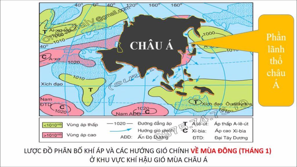 bài giảng địa lý châu á
